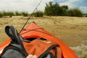 Whenever I land a kayak on the beach, I'm reminded of the Kenny Powers ...