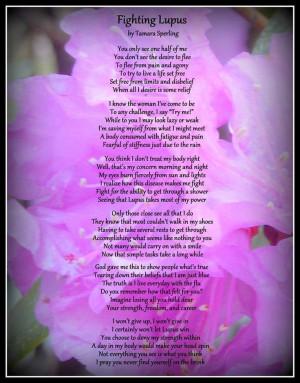 Lupus poem-on the dot. #lupus
