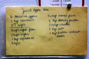 Jewish apple cake recipe by smitten kitchen, via Flickr
