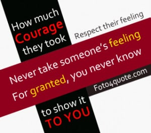 ... quotes - respect people's feeling - quotes about life and love - 3