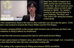 Kojima Fox Engine E3 2011: Demo Courtesy of IGN Peace Walker (released ...