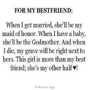 best friend half quotes