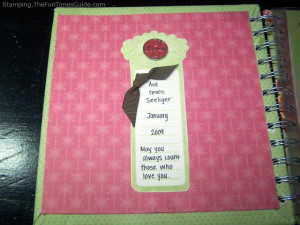 The inside cover for this baby book of numbers. photo by Meredith at ...