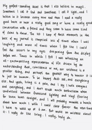 Tavi Gevinson. I really do like living, I really, truly do.