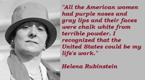Helena rubinstein famous quotes 2