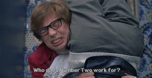 austin powers mole quote