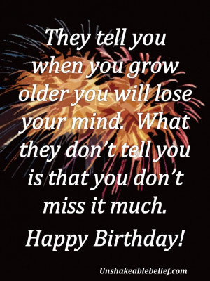 In Birthday Quotes , Funny Quotes