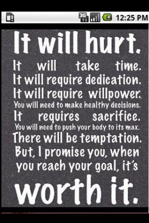 Fitness Motivational Quotes - screenshot