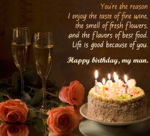 happy birthday my husband message