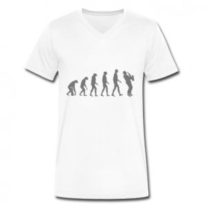 saxophone evolution T-Shirts