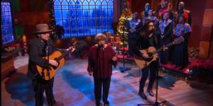 Watch Jeff Tweedy Mavis Staples Sean Lennon Sing Happy Xmas War