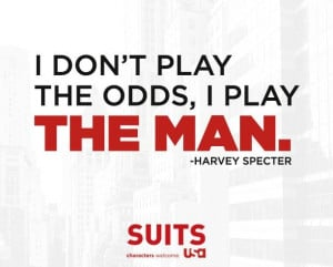Suits , Harvey Specter .