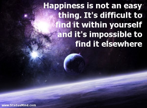 finding happiness within yourself quotes finding happiness within ...