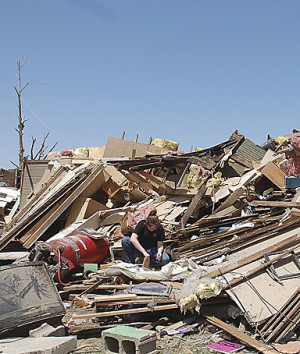 Tornado survivor Herman Hernandez, 68, after tornadoes swept Georgia ...