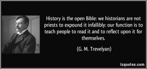 More G. M. Trevelyan Quotes