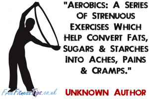 Aerobics: A Series Of Strenuous Exercises Which Help Convert Fats ...