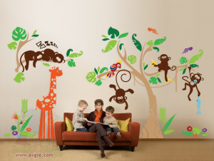 Decor Tuesday: Vinyl Wall Decals | Children Shine, 873x658 in 102.7KB