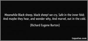 Black Sheep Quotes Meanwhile black sheep, black