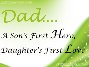 21 sweet father s day quotes from daughters to dads every father is ...