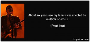 multiple sclerosis for what