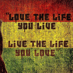 love the life you live live the life you love