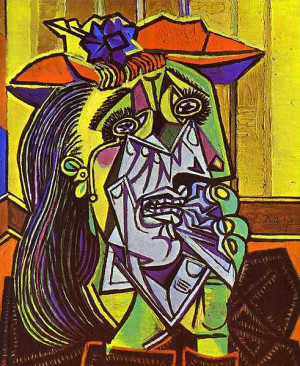 Pablo Picasso - Weeping Woman - 1937