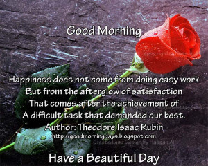 Best Good Morning Quotes For Facebook