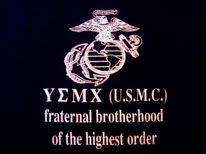 USMC - fraternal brotherhood of the highest order