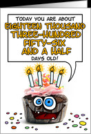 happy birthday - 50 years old card - Product #276352