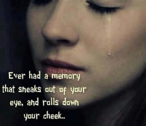 Sad Crying Eyes With Quotes Quote on crying