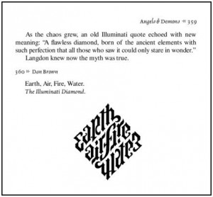Illuminati Diamond in Angels and Demons, publ. by Simon and Schuster ...