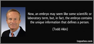More Todd Akin Quotes