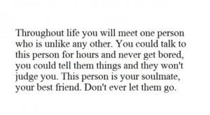 Don't let him go