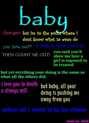 i love you baby quotes for him quotesgram