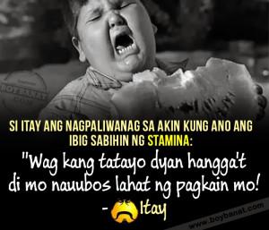 Tagalog Quotes Patama Sa Kaaway Si itay naman ang nagturo sa