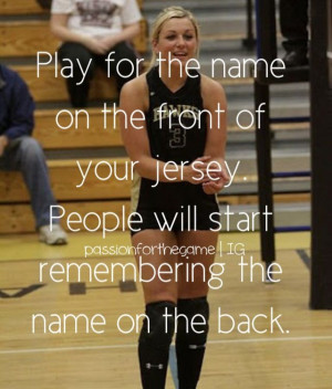 ... Quotes, Volleyball Life, Sports Team Quotes, Hockey Inspiration Quotes