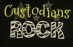 ... www.etsy.com/listing/107507450/custodians-rock-shirt-school-support