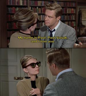 Breakfast At Tiffany'S, Breakfast At Tiffanys, Tv Quotes, Movie Quotes ...