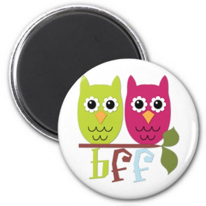BFF Best Friends Forever - Horses Magnets