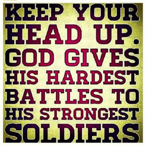 We are all God's soldiers