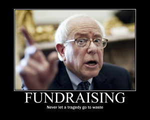 Bernie Sanders: Send me money or more people will die [Reader Post]