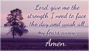Give Me Strength Ecard