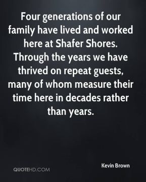 Family Generations Quote