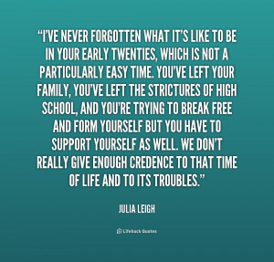 quotes about your 20s