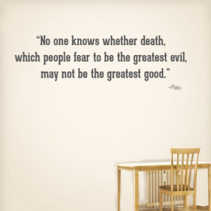 Home » No One Knows About Death