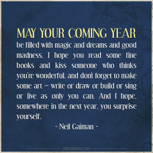 May your coming year be filled with magic'