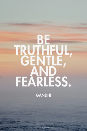 quote about being fearless