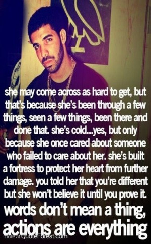 Drake Love Quotes And Sayings For Him Drake quotes :') love him so