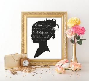 Jane Austen Quote Famous quote Printable quote Life quote ...