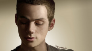Dylan OBrien As Stiles Stilinski